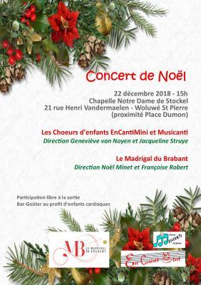 Affiche concert 22 12 18